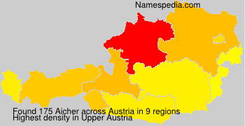 Surname Aicher in Austria
