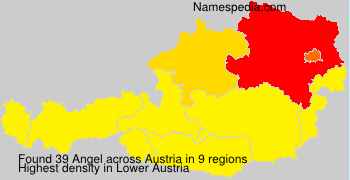 Surname Angel in Austria