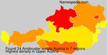 Surname Armbruster in Austria