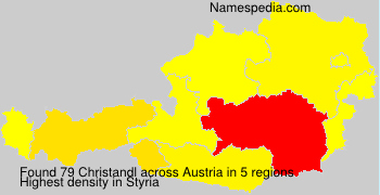 Surname Christandl in Austria