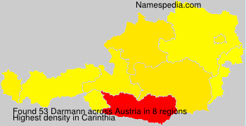 Surname Darmann in Austria