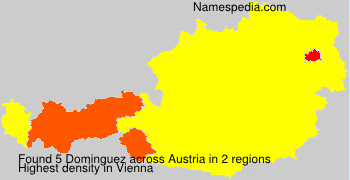 Surname Dominguez in Austria
