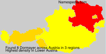 Surname Dormayer in Austria