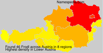 Surname Frodl in Austria