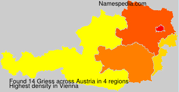 Surname Griess in Austria