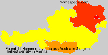 Surname Hammermayer in Austria