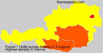 Surname Helbl in Austria