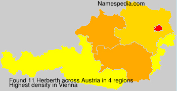 Surname Herberth in Austria