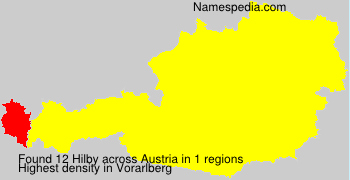 Surname Hilby in Austria