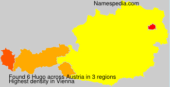 Surname Hugo in Austria