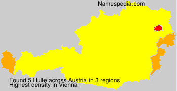 Surname Hulle in Austria