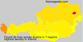 Surname Inan in Austria