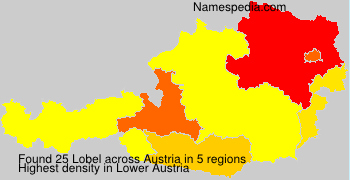 Surname Lobel in Austria