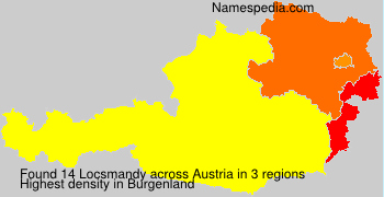 Surname Locsmandy in Austria