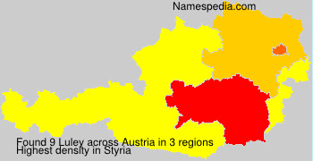 Surname Luley in Austria