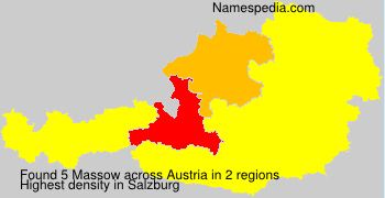 Surname Massow in Austria