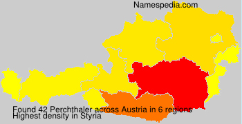 Surname Perchthaler in Austria