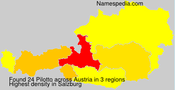 Surname Pilotto in Austria