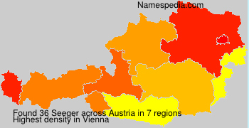 Surname Seeger in Austria