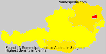 Surname Semmelrath in Austria