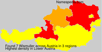 Surname Wismuller in Austria