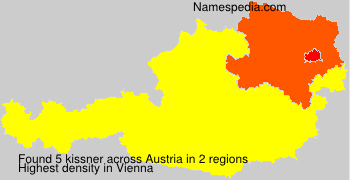 Surname kissner in Austria