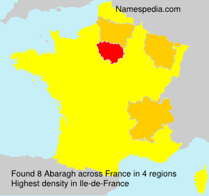 Surname Abaragh in France