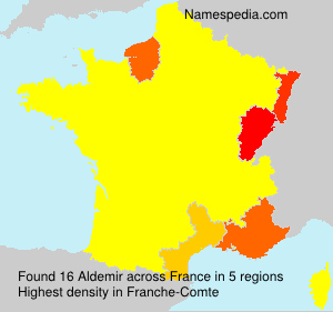 Surname Aldemir in France