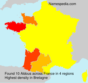Surname Aldous in France