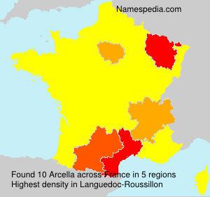 Surname Arcella in France