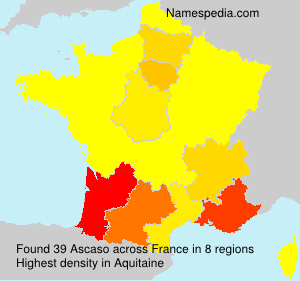 Surname Ascaso in France