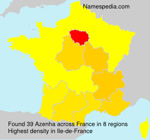 Surname Azenha in France