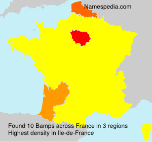 Surname Bamps in France