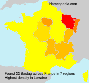 Surname Bastug in France