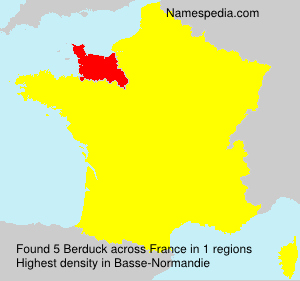 Surname Berduck in France
