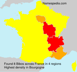 Surname Bibos in France