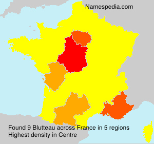 Surname Blutteau in France