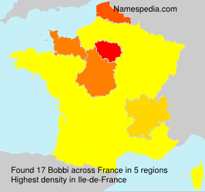 Surname Bobbi in France