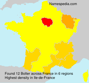 Surname Bolter in France