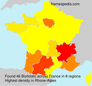 Surname Bortolato in France