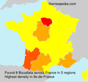Surname Bouallala in France