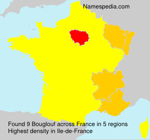 Surname Bouglouf in France