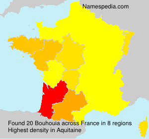 Surname Bouhouia in France