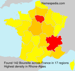 Surname Boureille in France