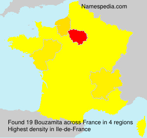 Surname Bouzamita in France