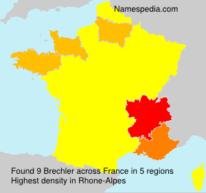 Surname Brechler in France