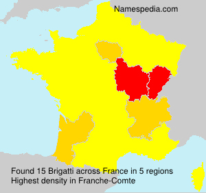 Surname Brigatti in France