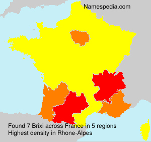 Surname Brixi in France