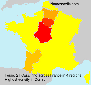 Surname Casalinho in France