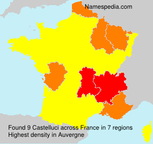 Surname Castelluci in France